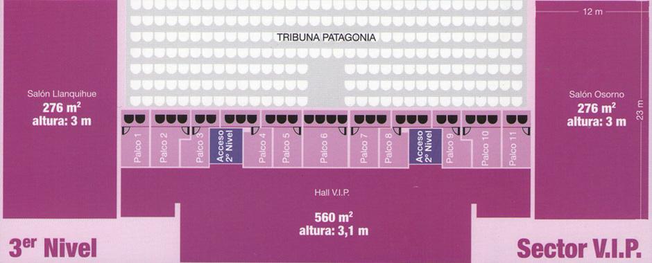 Arena Puerto Montt - Piso 3